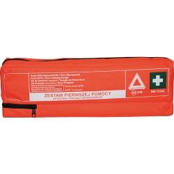 Apteczka pierwszej pomocy samochodowa + trójkąt ostrzegawczy ASAC C