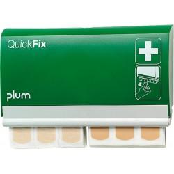 Dyspenser z plastrami dozownik Quick Fix PLUM