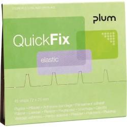 Plastry elastyczne Quick Fix PLUM 45 szt.