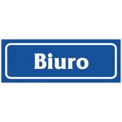 "Znak ""Biuro"" 90x240 płytka PCV"