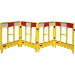 Bariera ostrzegawcza JSP Workgate żółta