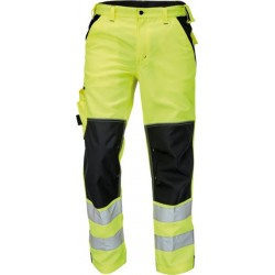 Spodnie męskie ochronne Cerva KNOXFIELD HV FL290 żółte r. 48 - 60