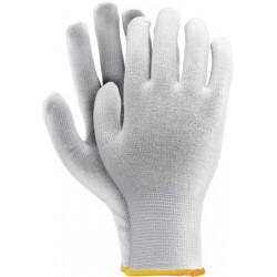 Rękawice ochronne bawełniane REIS RWULUX białe r. 7 - 10