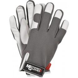 Rękawice ochronne skóra REIS RMC-TUCANA SW r. M - XL