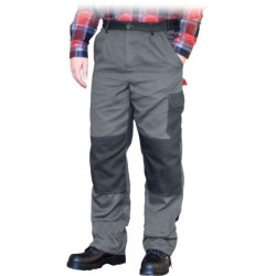 Spodnie ochronne do pasa REIS BOMULL szare r. 46 - 62