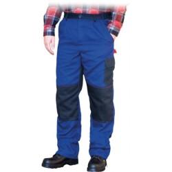 Spodnie do pasa ochronne REIS BOMULL niebieskie r. 46 - 62