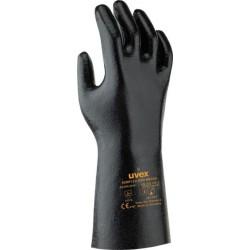 Rękawice ochronne antystatyczne UVEX RUBIFLEX ESD czarne r. 7 - 10