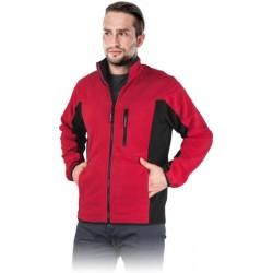 Bluza polarowa REIS POLAR-TWIN czerwono-czarna r. M - 3XL