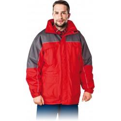 Kurtka zimowa wykonana z tkaniny typu rip-stop REIS WIN-RED r. M - 3XL