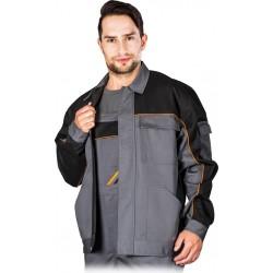 Bluza ochronna robocza REIS PRO MASTER stalowa r. M - 3XL