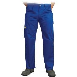 Spodnie ochronne do pasa Leber & Hollman VOBSTER niebieskie r. 25 - 110