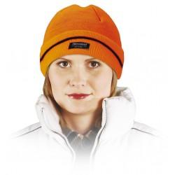 Czapka zimowa ocieplana wkładką Thinsulate REIS CZBAW pomarańczowa r. 57-61