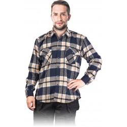 Koszula flanelowa jesienno-zimowa REIS KFLUX N r. M - 3XL