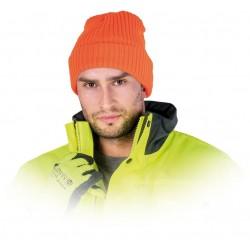 Czapka ocieplana ochronna REIS CZREFLECT P pomarańczowa r. 57 - 61
