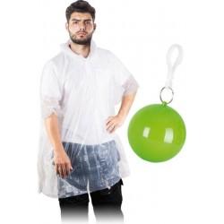 Peleryna przeciwdeszczowa Poncho w breloku REIS RAINBALL transparentna r. UNI