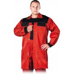 Fartuch ochronny REIS Multi Master czerwono-czarny r. M - 3XL