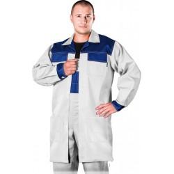 Fartuch ochronny REIS Multi Master WN biało-niebieski r. M - 3XL