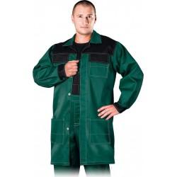 Fartuch ochronny REIS Multi Master ZB zielono-czarny r. M - 3XL
