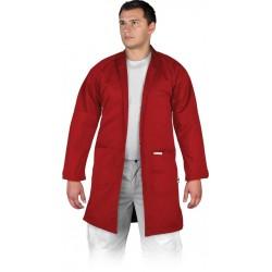 Fartuch ochronny Leber & Hollman LH-COATER czerwony r. M - 3XL