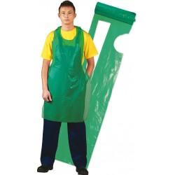 Fartuch ochronny przedni foliowy REIS FFOL-ROLL zielony 117x70 100szt.