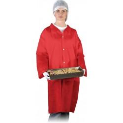 Fartuch ochronny laboratoryjny REIS FLAB C czerwony r. M - 3XL