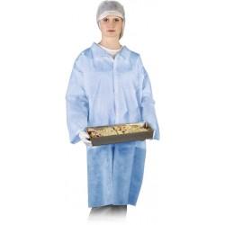 Fartuch ochronny laboratoryjny REIS FLAB N niebieski r. M - 3XL