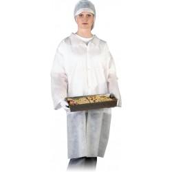 Fartuch ochronny laboratoryjny REIS FLAB w biały r. M - 3XL