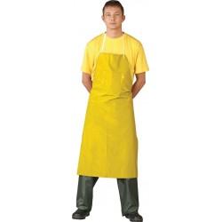 Fartuch ochronny PCV żółty r. 75x110cm