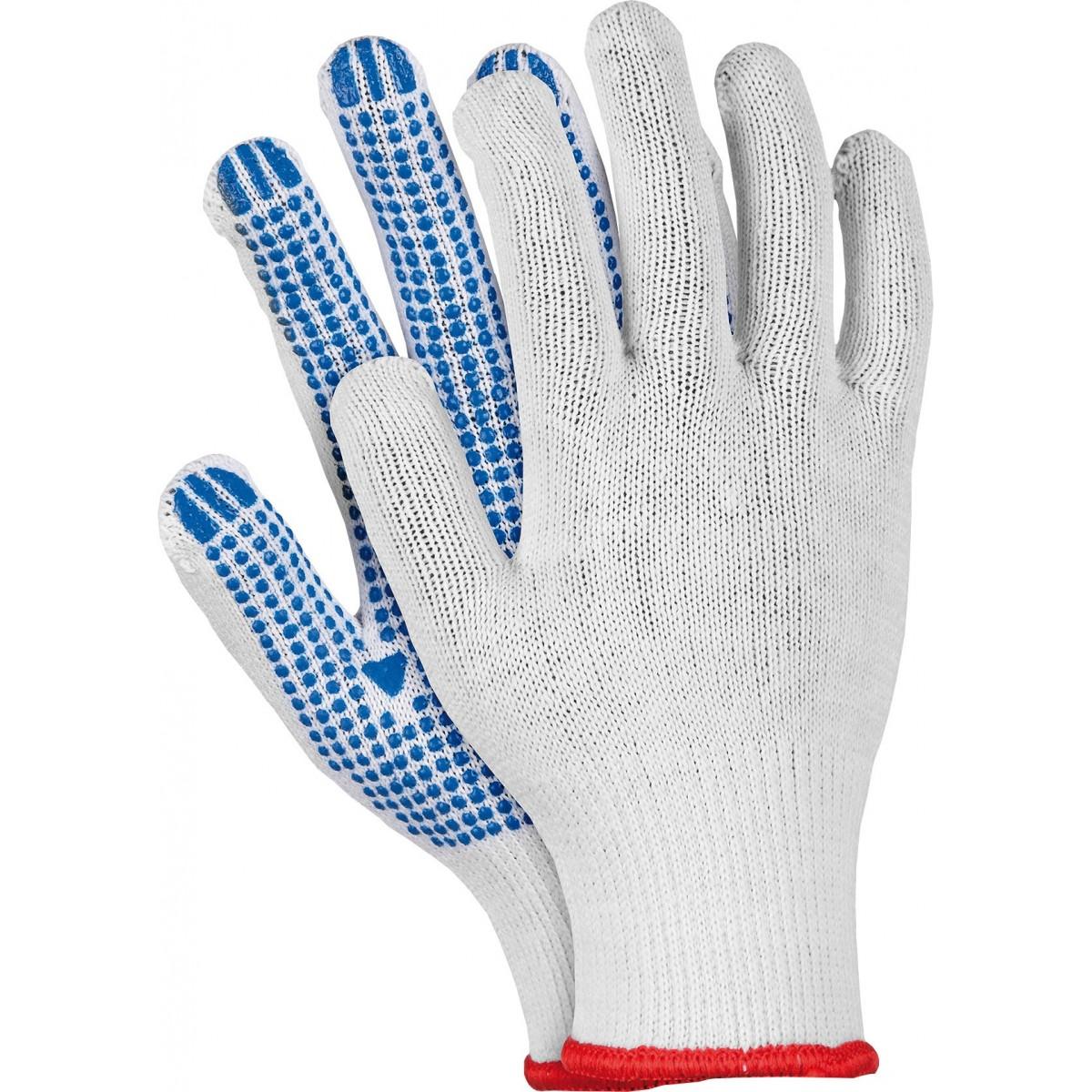 Rękawice ochronne z nakropieniem REIS RDZN WN