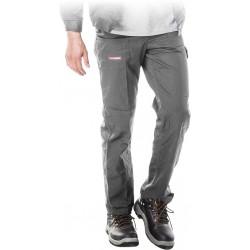 Spodnie ochronne do pasa REIS Master SPM szare r. 48 - 62