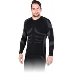 Koszulka termoaktywna REIS BERGEN szaro-czarna r. M - 2XL