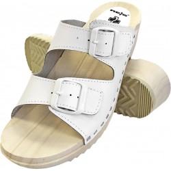 Drewniaki sandały ortopedyczne BMRDRE2PAS białe r. 35 - 41