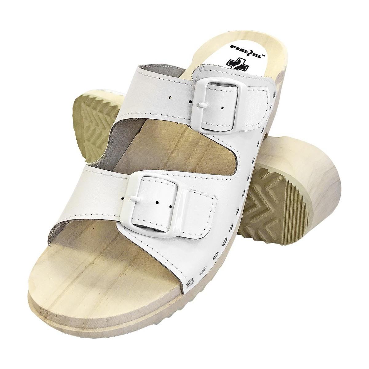 af580705a7ce6 Drewniaki sandały ortopedyczne BMRDRE2PAS białe r. 35 - 41