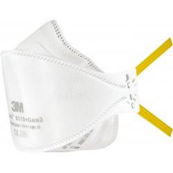 Półmaska filtrująca 3M z serii Aura™ 9310+Gen3 biała uniwersalna
