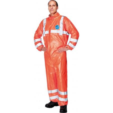 Kombinezon ochronny DUPONT TYVEK® 500 Hi-Vis pomarańczowy r. M - 3XL