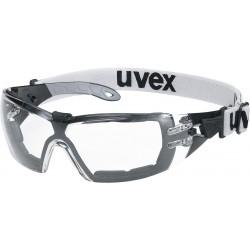 Okulary ochronne UVEX PHEOS GUARD transparentne