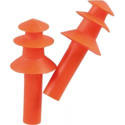 Wkładki przeciwhałasowe wielokrotnego użytku REIS OSZ-TREE pomarańczowe