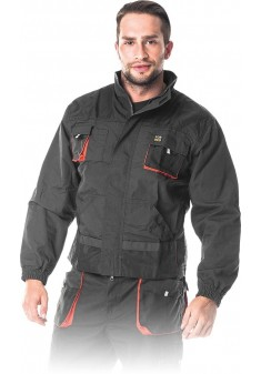 Bluza ochronna REIS Foreco SBP stalowo-czarno-pomarańczowa r. M - 3XL