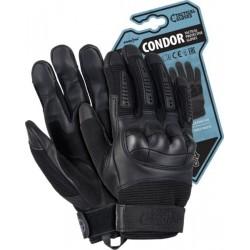 Rękawice ochronne taktyczne RTC-CONDOR B czarne r. M-XL