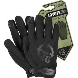 Rękawice ochronne taktyczne RTC-COYOTE B czarne r. S-XL