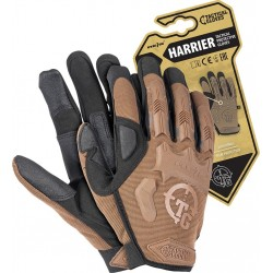 Rękawice ochronne taktyczne RTC-HARRIER COY brązowe r. M-XL