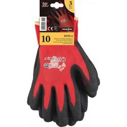 Rękawice REIS DRAGON RNYLA-S CB czarwono-czarne r. 7-10