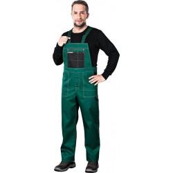 Spodnie ogrodniczki REIS Multi Master MMS ZB zielono-czarne r. 46 - 62