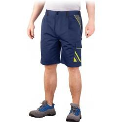 Spodnie krótkie do pasa PRO MASTER PROTS GYS granatowo-żółto-szare S-3XL