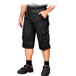 Spodnie ochronne krótkie do pasa REIS SKV-ACTION B czarne r. S-3XL