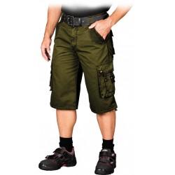 Spodnie ochronne krótkie do pasa REIS SKV-ACTION Z zielone r. S-3XL