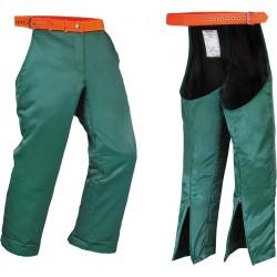 Spodnie nogawice ochronne dla pilarza drwala DRWAL DR-PIL-N ZP