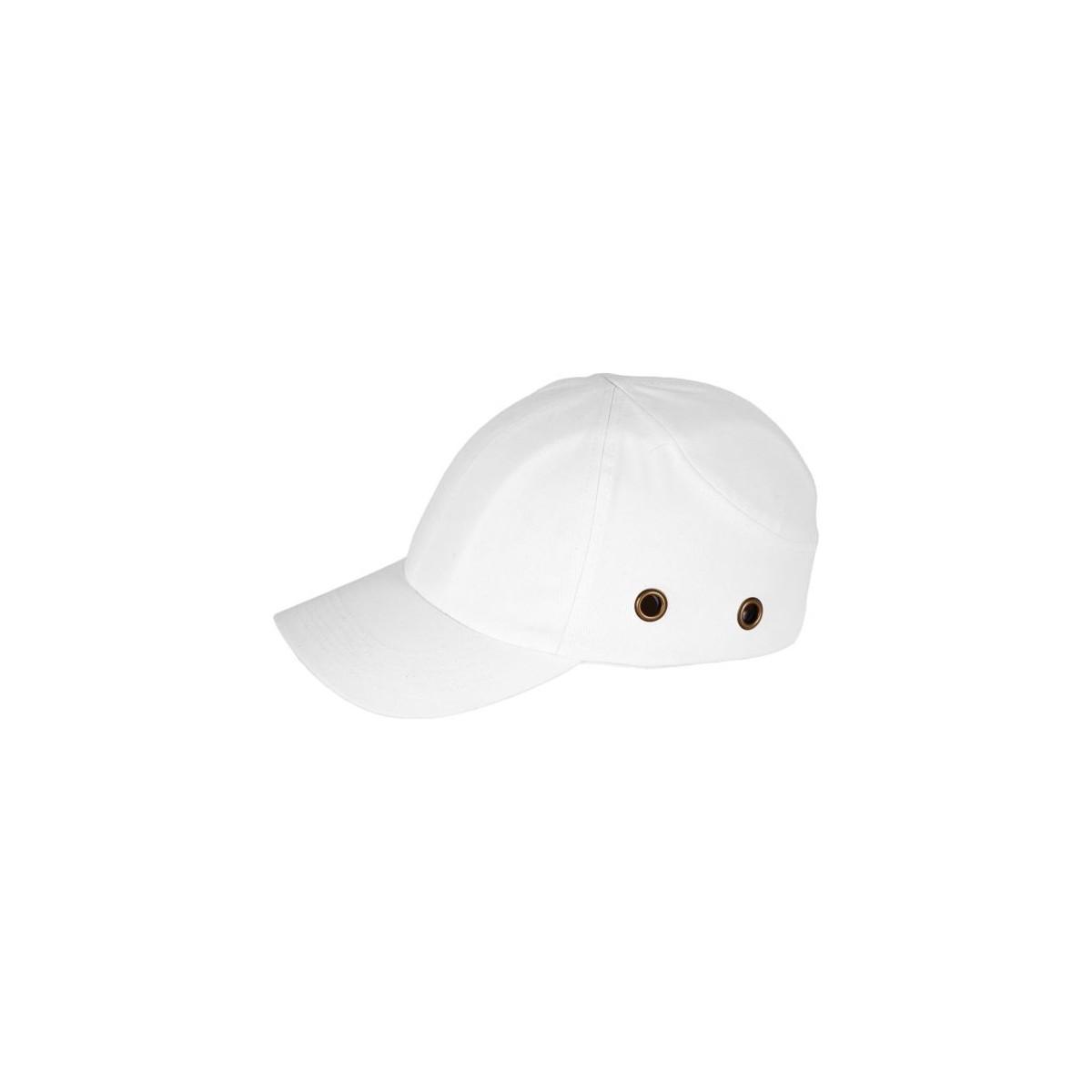 Lekki hełm przemysłowy REIS BUMPCAP W biały r. 54-59