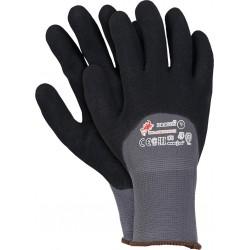 Rękawice ochronne z nylonu powlekane nitrylem RBLACKFOAM-H r. 7-10