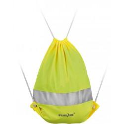 Worek z pasem odblaskowym REIS FLUOBAG Y żółty